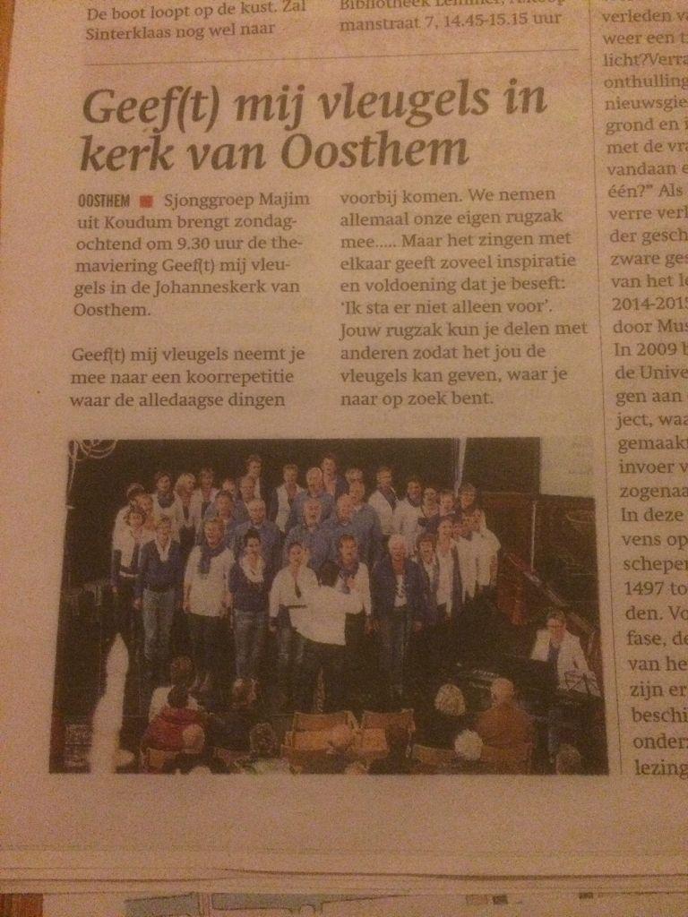 Persbericht Oosthem